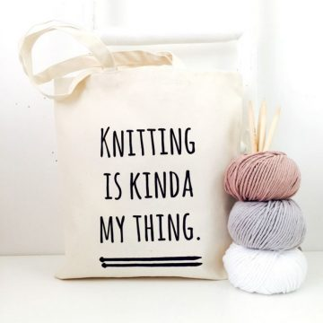 Tas knitting is kinda my thing