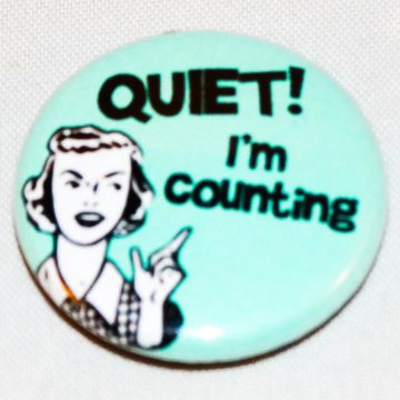 Button counting mint