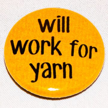 Button will work for yarn