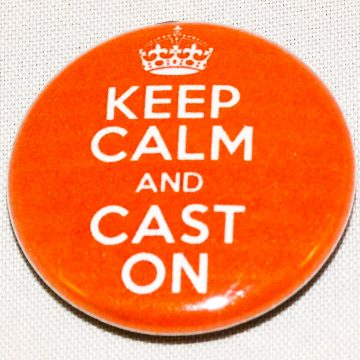 Button keep calm