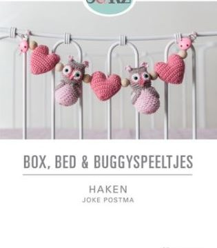 boek box, bed, en buggy haken - Joke Postma