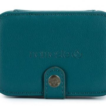Namaste buddy case Small Teal
