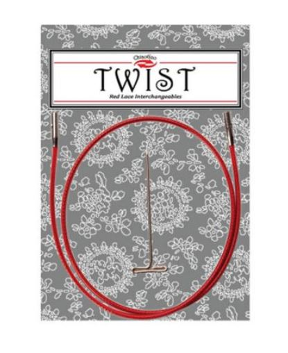 ChiaogooTwist Red cable mini 55cm