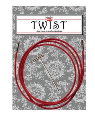 ChiaogooTwist Red cable S 55cm