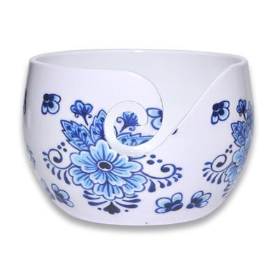 Durable Aluminium Yarn Bowl Blue