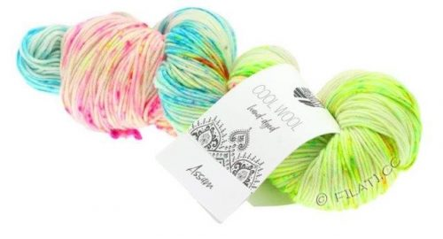 Lana Grossa Cool Wool hand-dyed 103 Assam