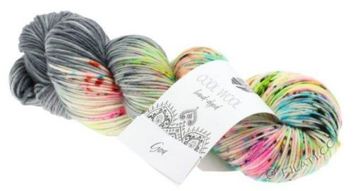 Lana Grossa Cool Wool hand-dyed 105 Goa